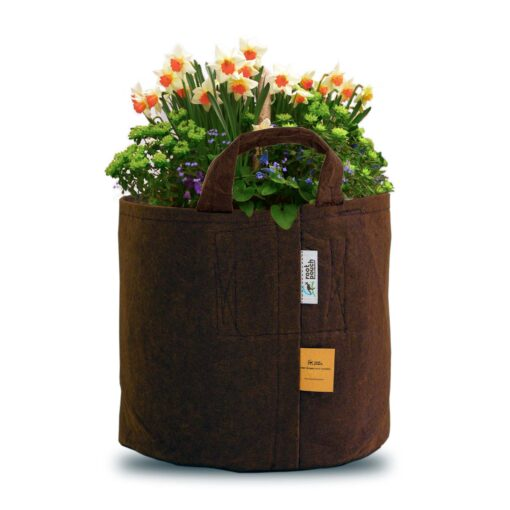 root pouch (brown), gardening